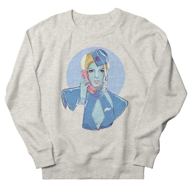 Toxic Pop Women's French Terry Sweatshirt by Ego Rodriguez