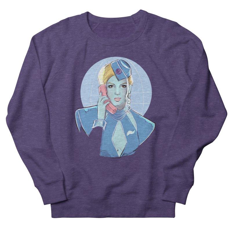 Toxic Pop Men's French Terry Sweatshirt by Ego Rodriguez