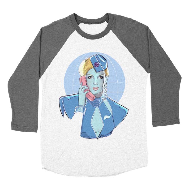 Toxic Pop Women's Baseball Triblend Longsleeve T-Shirt by Ego Rodriguez