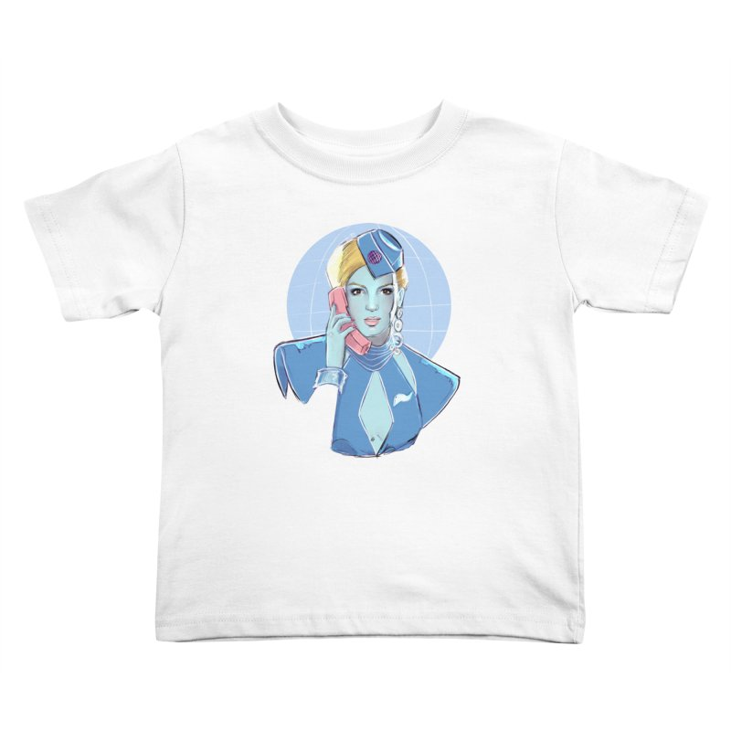 Toxic Pop Kids Toddler T-Shirt by Ego Rodriguez