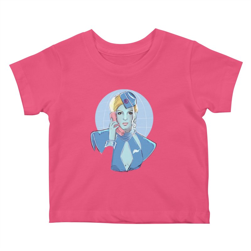 Toxic Pop Kids Baby T-Shirt by Ego Rodriguez
