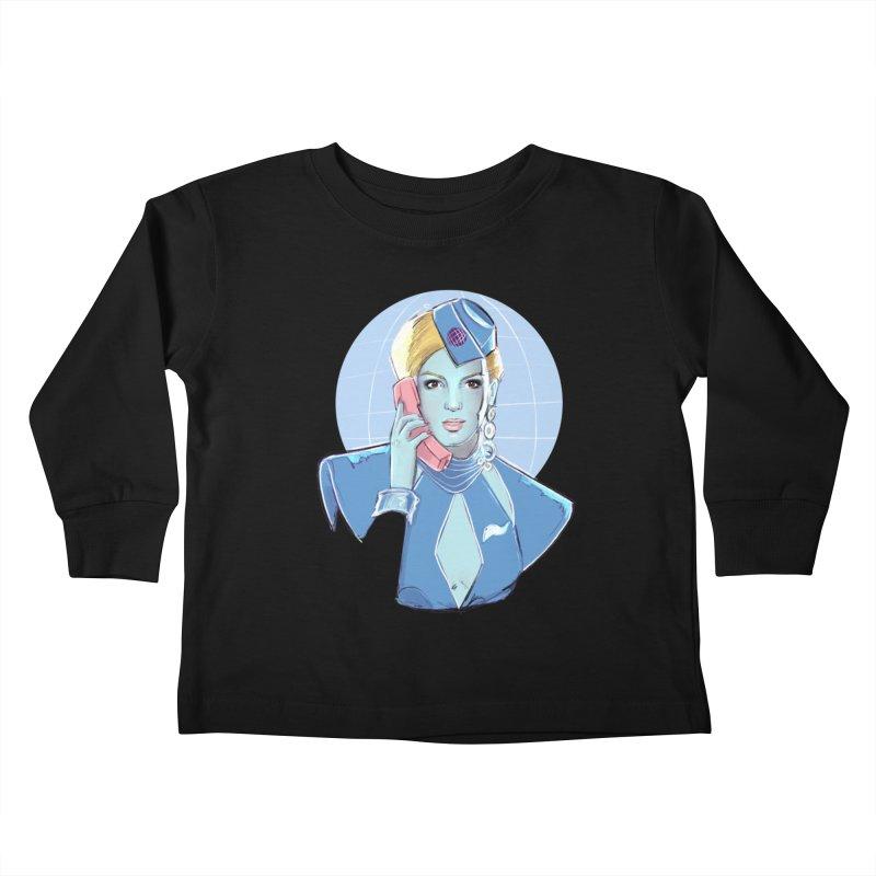 Toxic Pop Kids Toddler Longsleeve T-Shirt by Ego Rodriguez