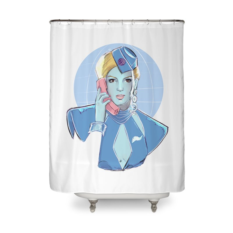 Toxic Pop Home Shower Curtain by Ego Rodriguez