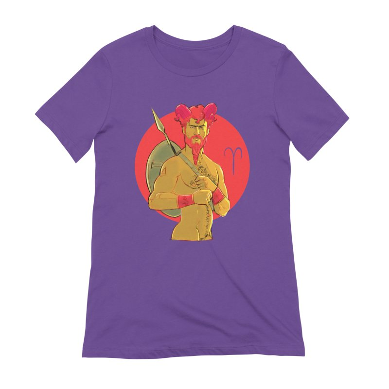Aries Women's Extra Soft T-Shirt by Ego Rodriguez