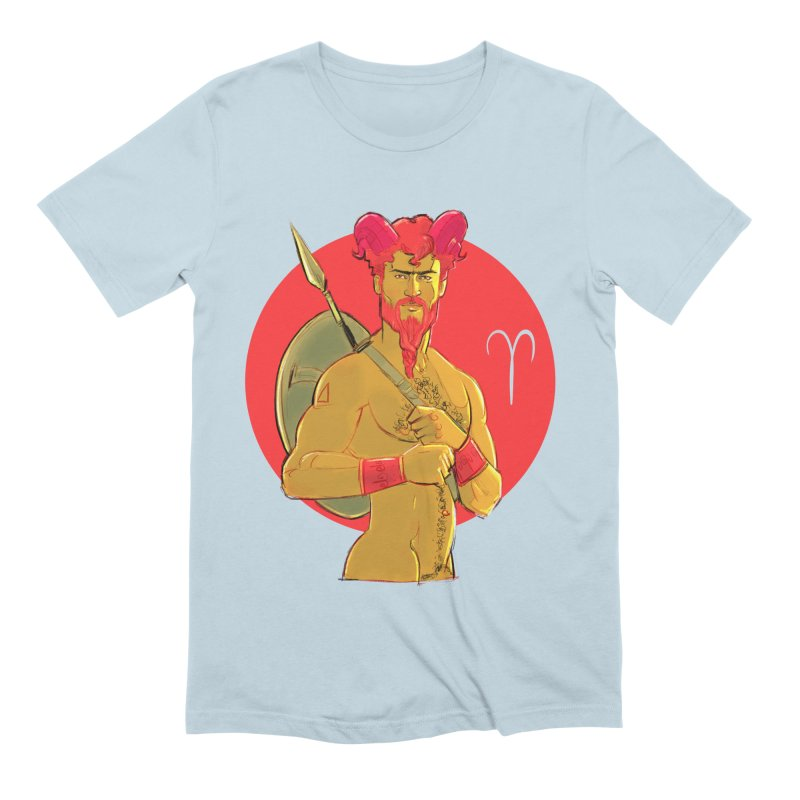 Aries Men's Extra Soft T-Shirt by Ego Rodriguez