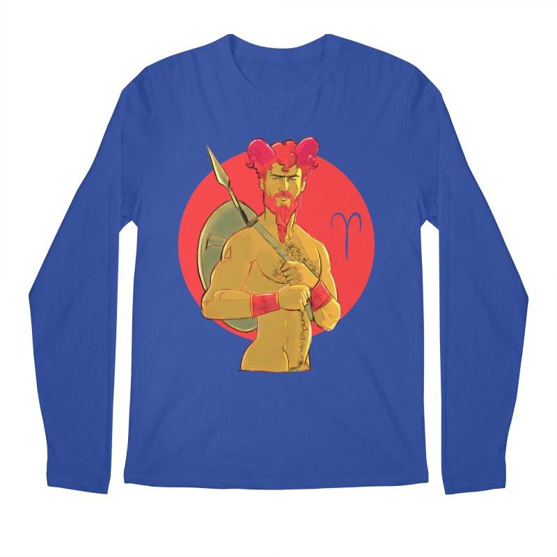Aries Men's Regular Longsleeve T-Shirt by Ego Rodriguez