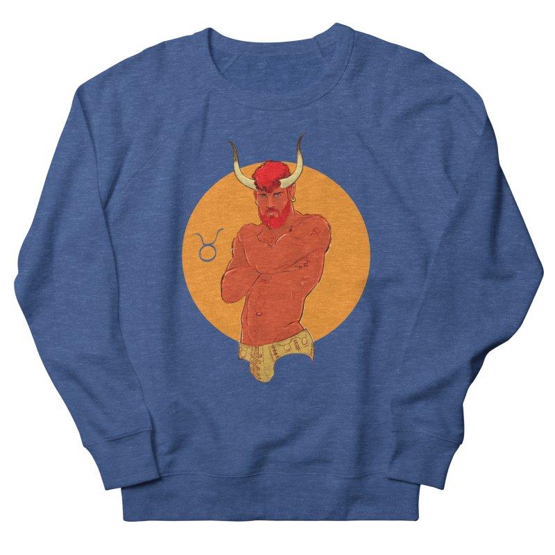 Taurus Women's French Terry Sweatshirt by Ego Rodriguez