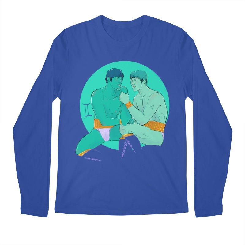 Gemini Men's Regular Longsleeve T-Shirt by Ego Rodriguez