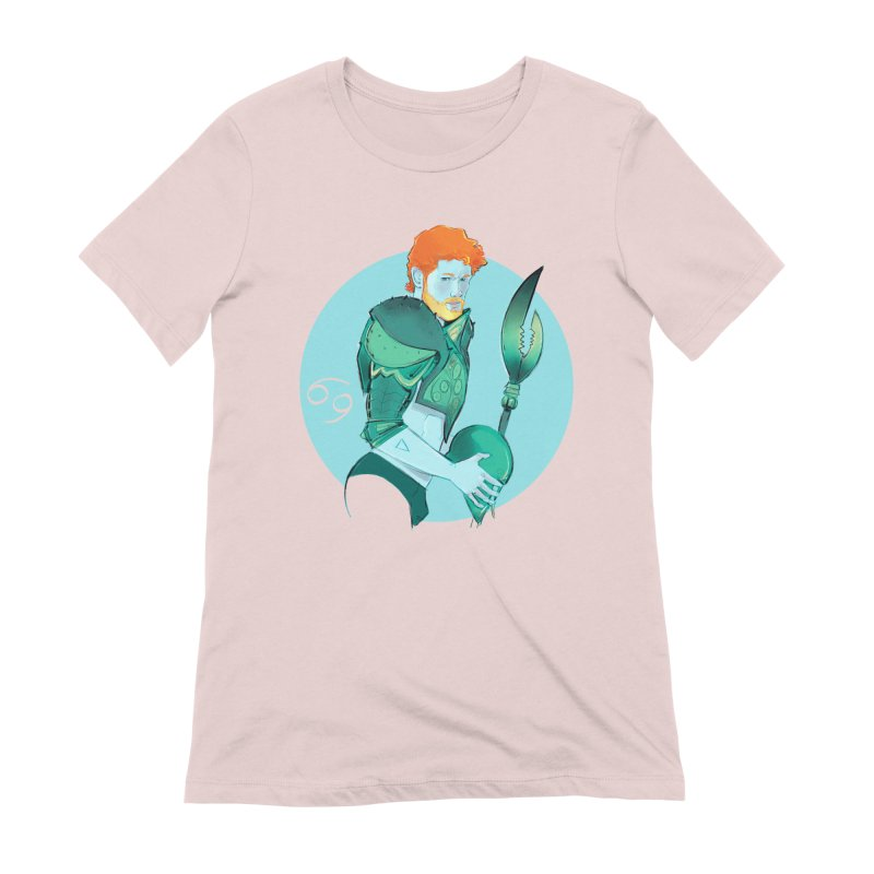 Cancer Women's Extra Soft T-Shirt by Ego Rodriguez