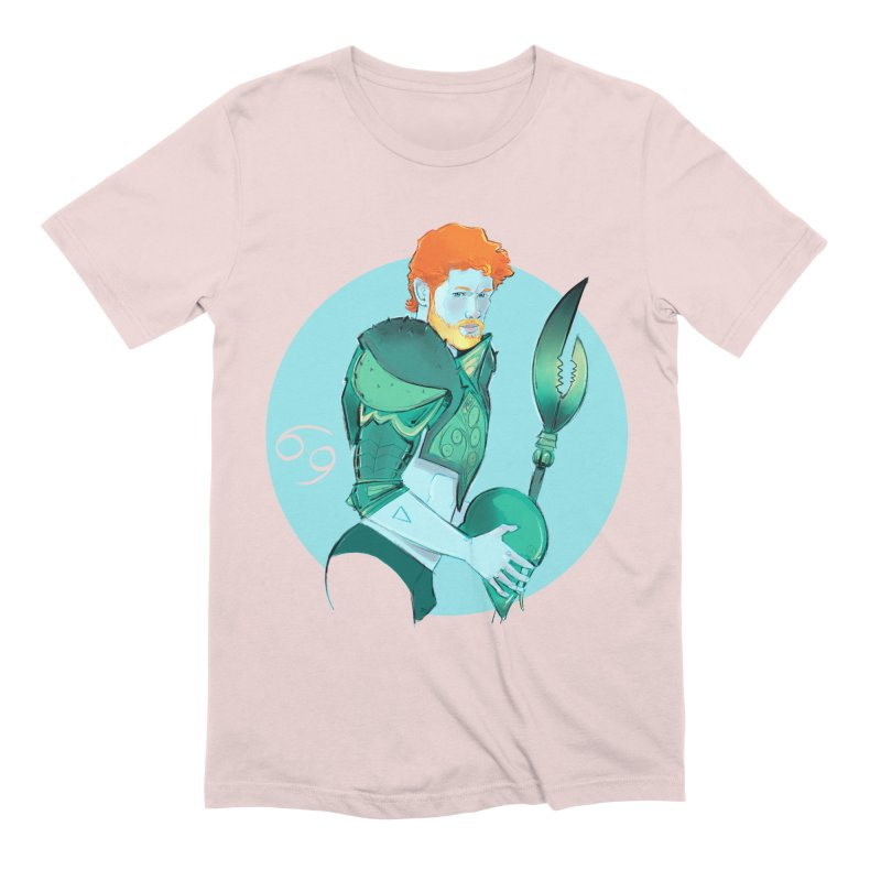 Cancer Men's Extra Soft T-Shirt by Ego Rodriguez