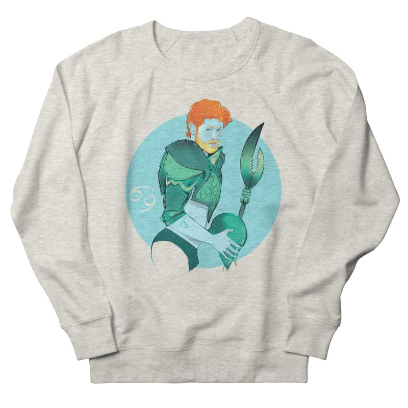 Cancer Women's French Terry Sweatshirt by Ego Rodriguez