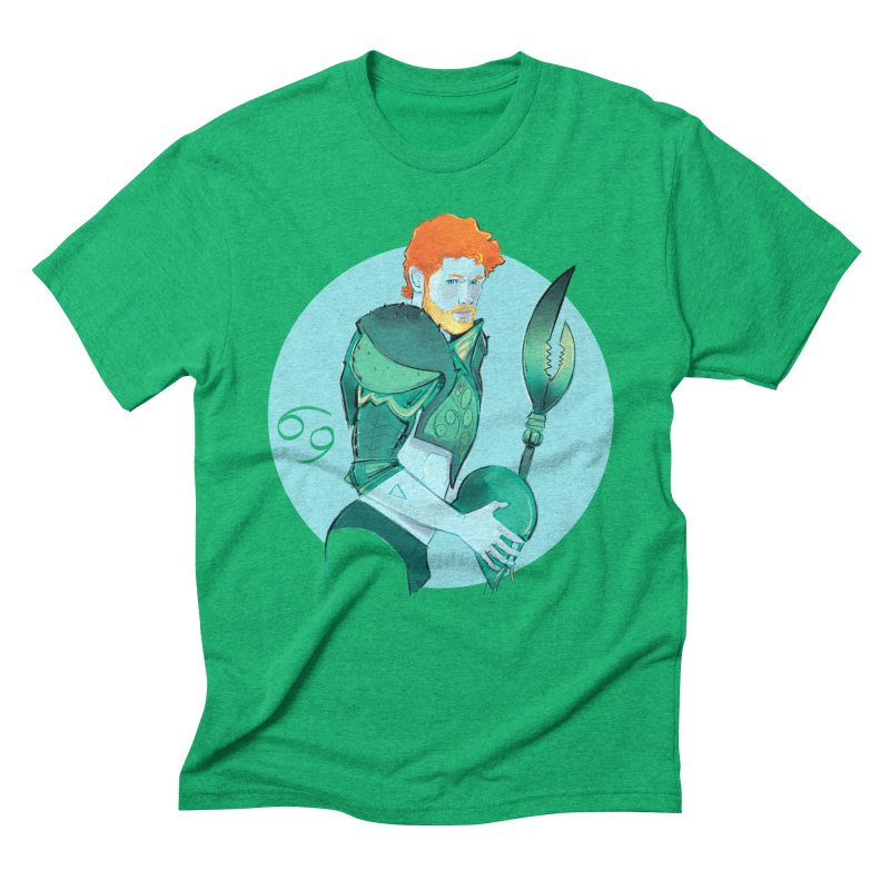 Cancer Men's Triblend T-Shirt by Ego Rodriguez