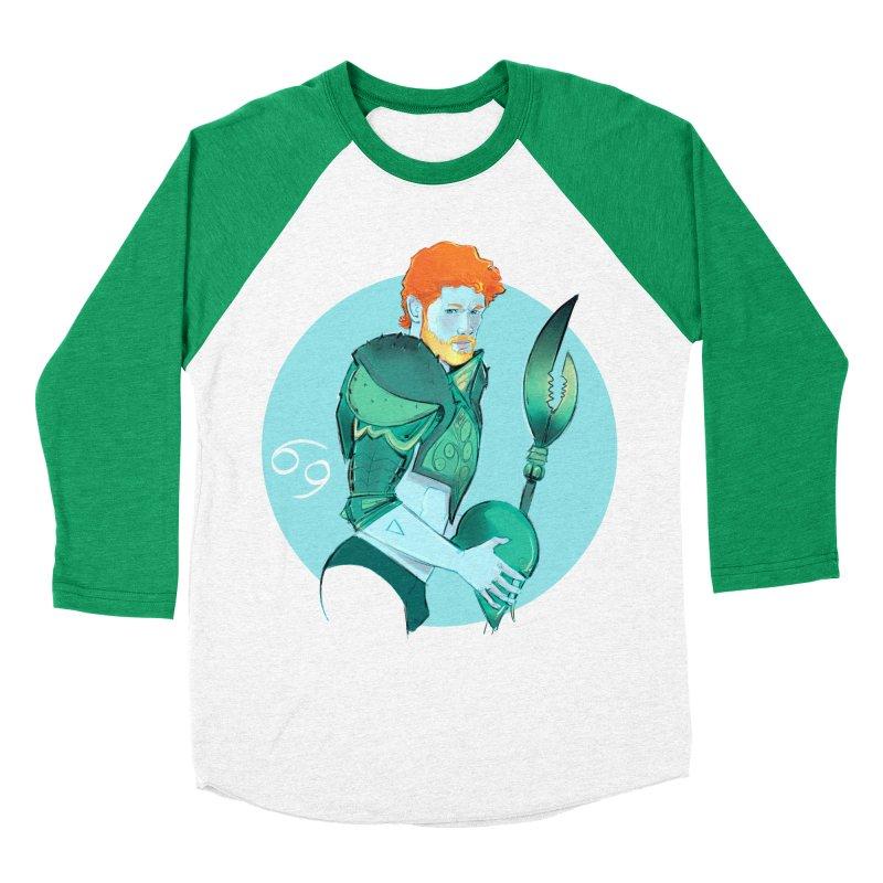 Cancer Women's Baseball Triblend Longsleeve T-Shirt by Ego Rodriguez