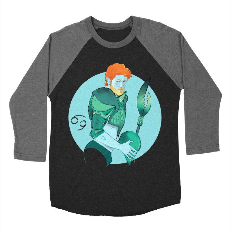 Cancer Men's Baseball Triblend Longsleeve T-Shirt by Ego Rodriguez