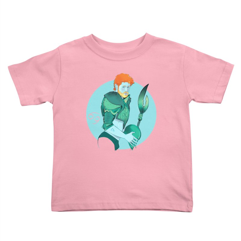 Cancer Kids Toddler T-Shirt by Ego Rodriguez