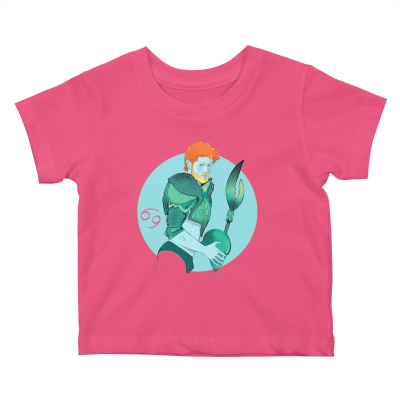 Cancer Kids Baby T-Shirt by Ego Rodriguez