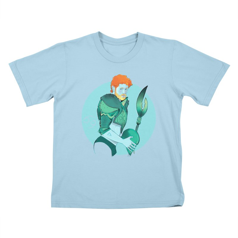Cancer Kids T-Shirt by Ego Rodriguez