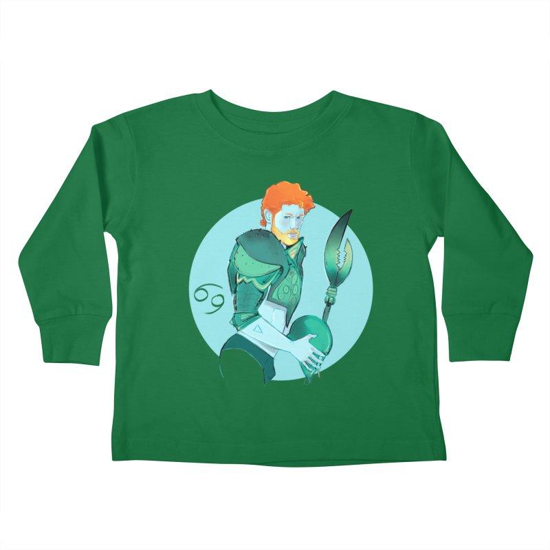 Cancer Kids Toddler Longsleeve T-Shirt by Ego Rodriguez