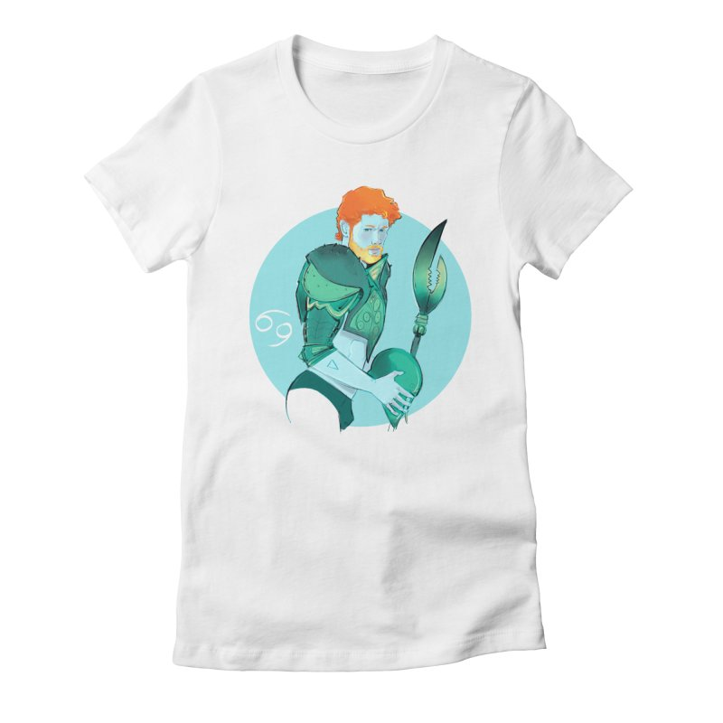 Cancer Women's Fitted T-Shirt by Ego Rodriguez