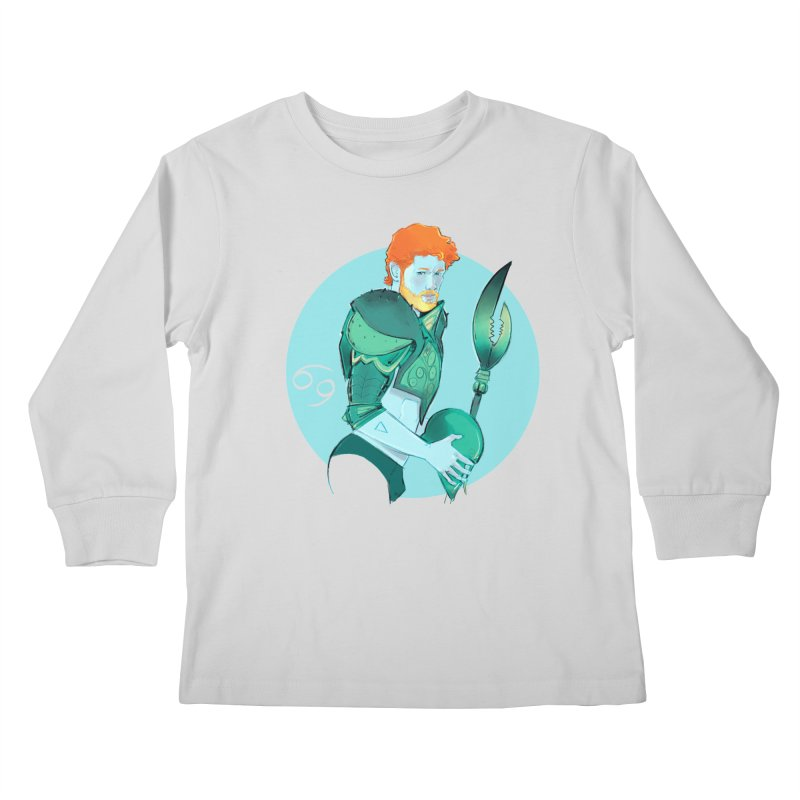 Cancer Kids Longsleeve T-Shirt by Ego Rodriguez