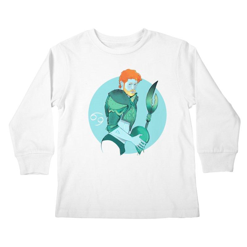 Cancer Kids Longsleeve T-Shirt by Ego Rodriguez