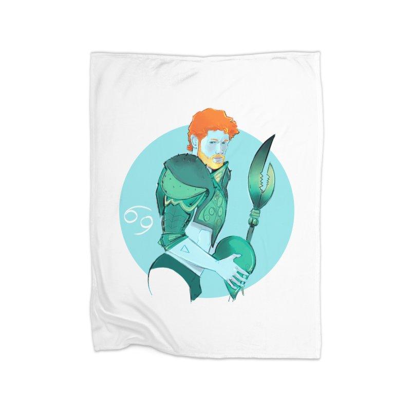 Cancer Home Fleece Blanket Blanket by Ego Rodriguez