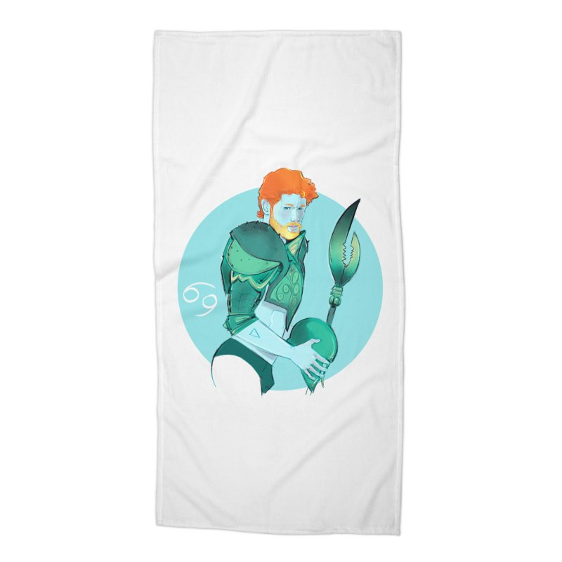 Cancer Accessories Beach Towel by Ego Rodriguez