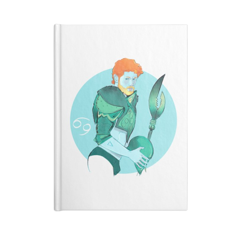 Cancer Accessories Blank Journal Notebook by Ego Rodriguez
