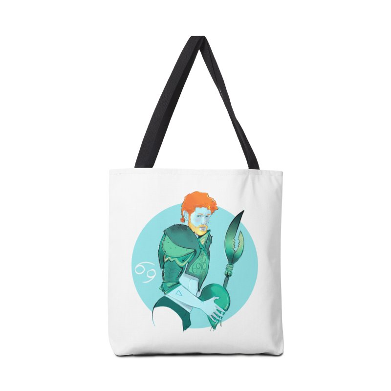 Cancer Accessories Tote Bag Bag by Ego Rodriguez