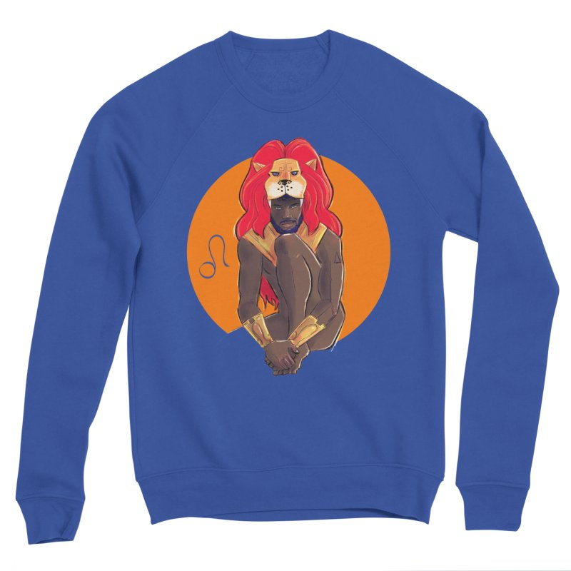Leo Men's Sweatshirt by Ego Rodriguez