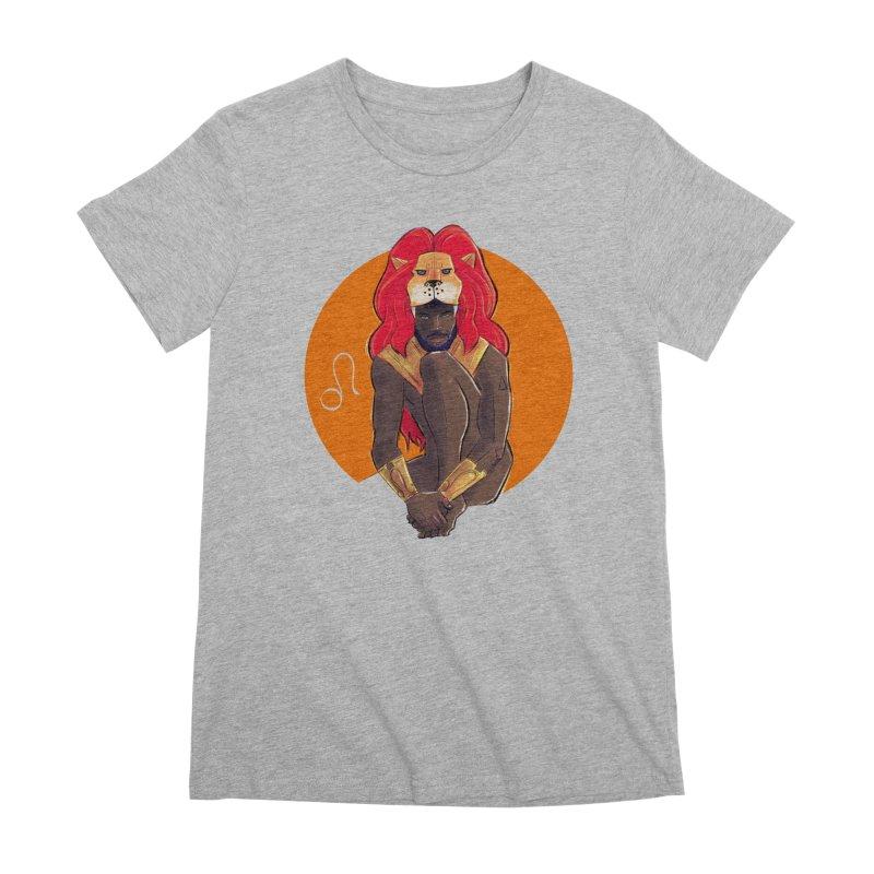 Leo Women's Premium T-Shirt by Ego Rodriguez