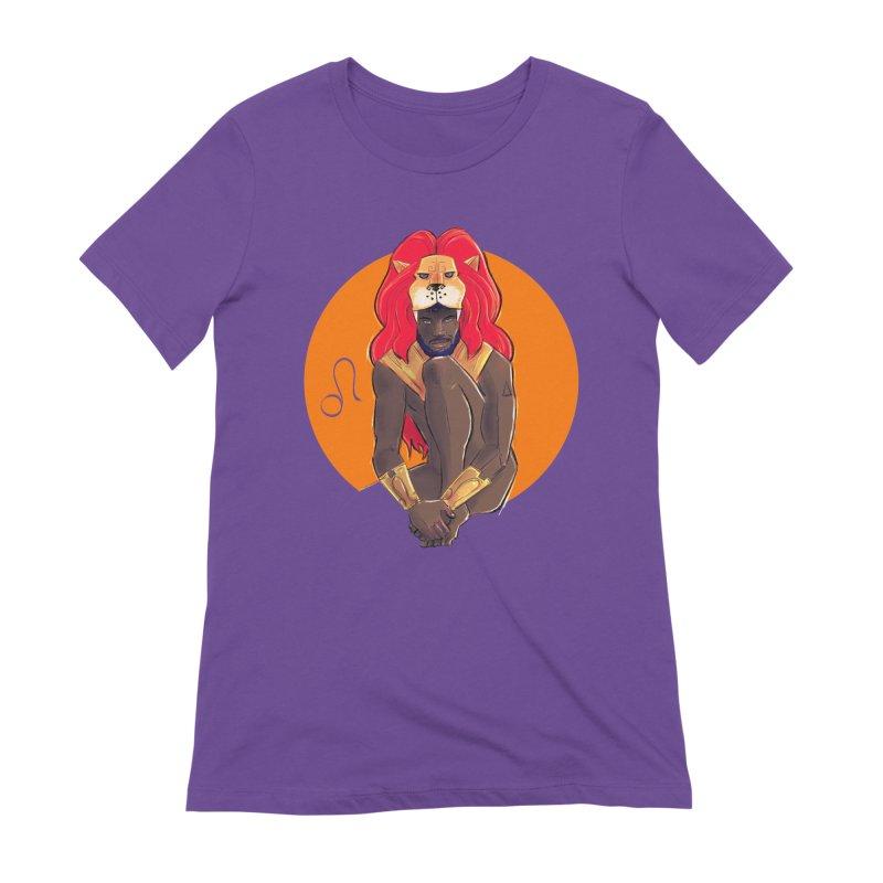 Leo Women's Extra Soft T-Shirt by Ego Rodriguez