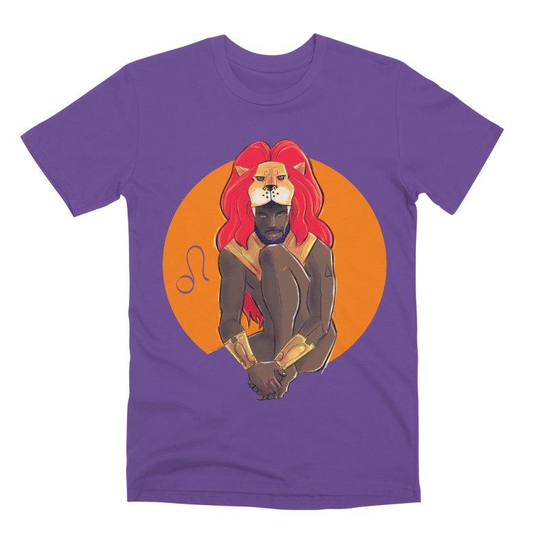 Leo Men's Premium T-Shirt by Ego Rodriguez