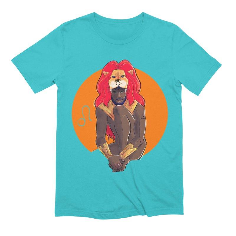 Leo Men's Extra Soft T-Shirt by Ego Rodriguez