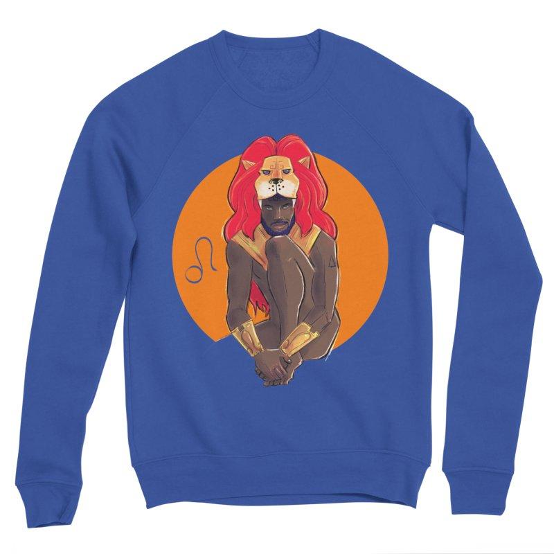 Leo Men's Sponge Fleece Sweatshirt by Ego Rodriguez