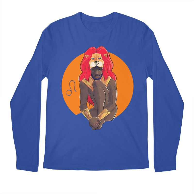 Leo Men's Regular Longsleeve T-Shirt by Ego Rodriguez