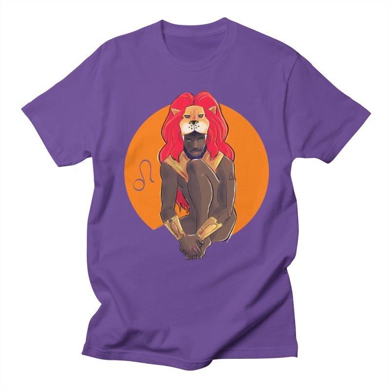 Leo Men's Regular T-Shirt by Ego Rodriguez
