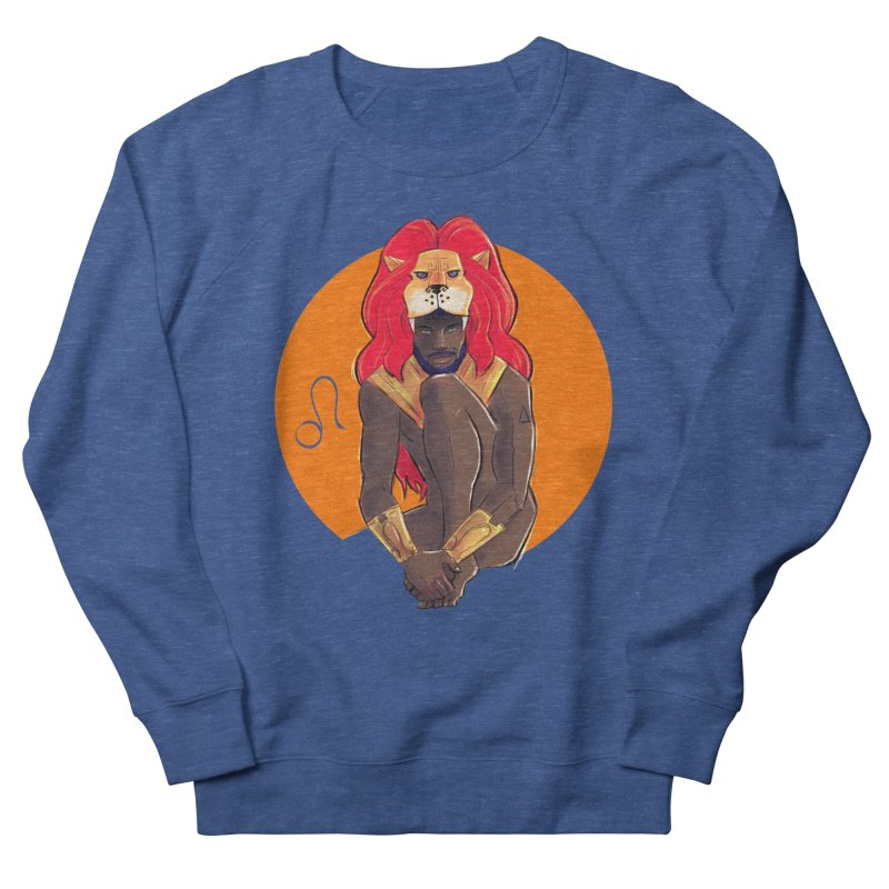 Leo Women's French Terry Sweatshirt by Ego Rodriguez