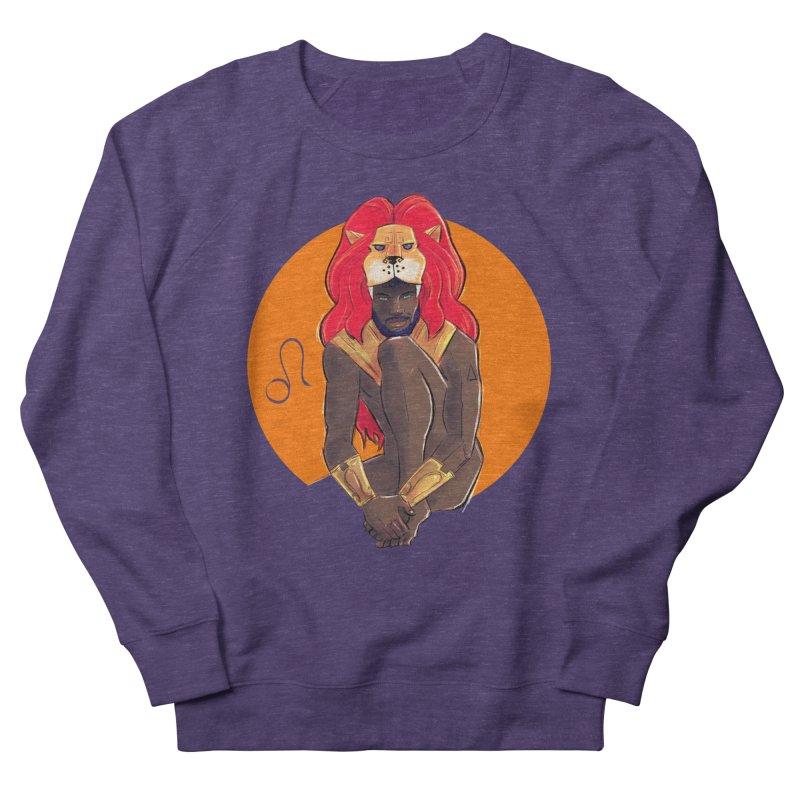 Leo Men's French Terry Sweatshirt by Ego Rodriguez
