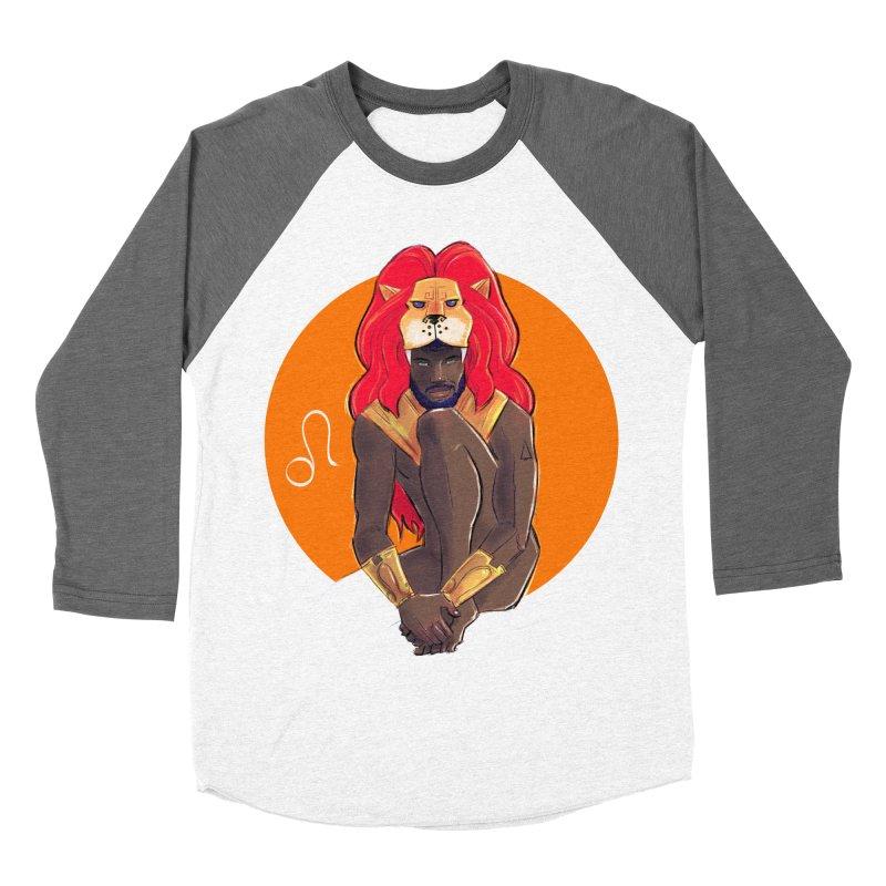 Leo Women's Baseball Triblend Longsleeve T-Shirt by Ego Rodriguez