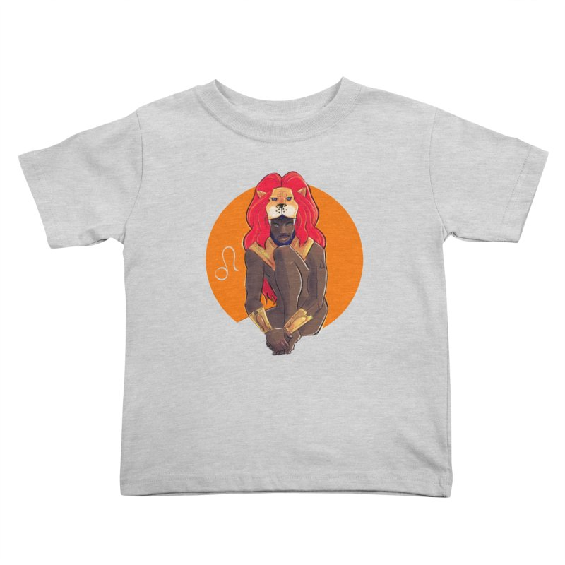 Leo Kids Toddler T-Shirt by Ego Rodriguez