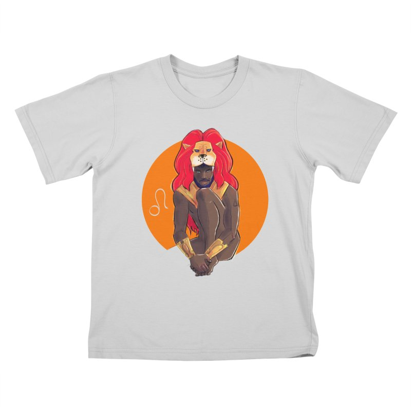 Leo Kids T-Shirt by Ego Rodriguez