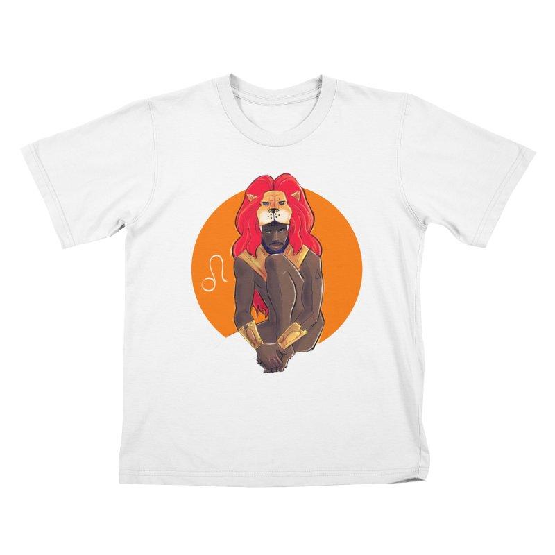 Leo Kids T-Shirt by Ego Rodriguez