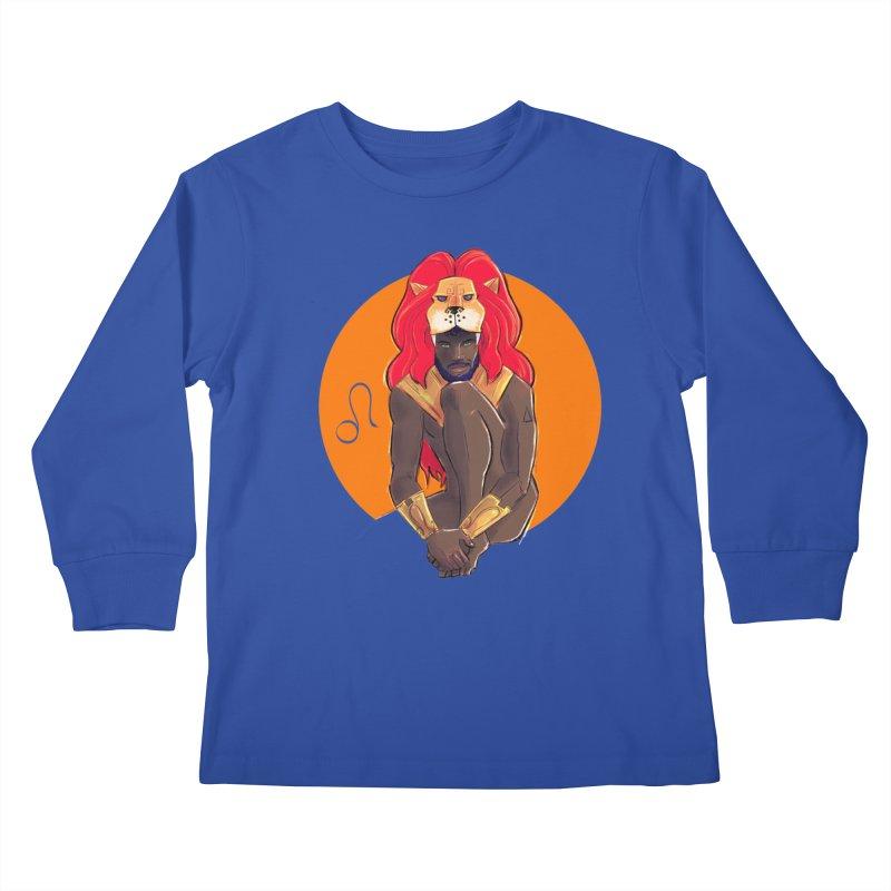 Leo Kids Longsleeve T-Shirt by Ego Rodriguez