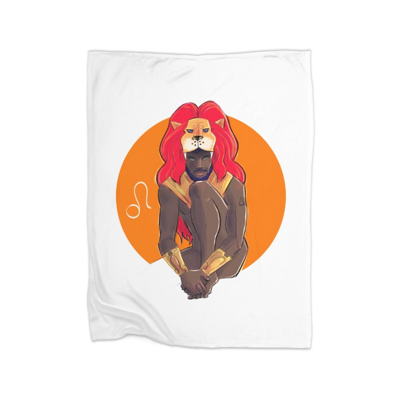 Leo Home Fleece Blanket Blanket by Ego Rodriguez