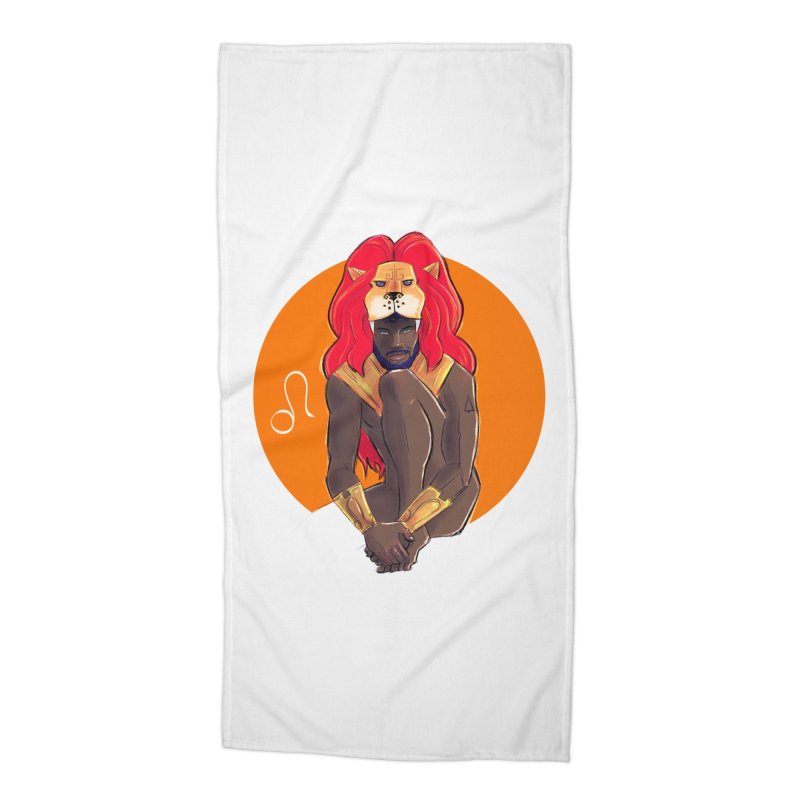 Leo Accessories Beach Towel by Ego Rodriguez