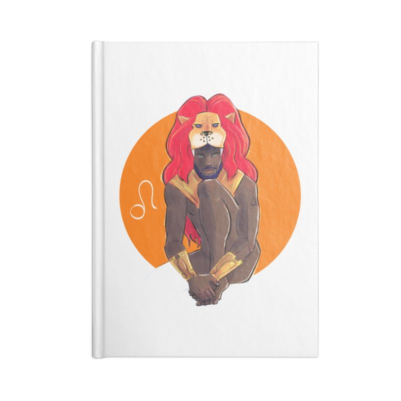 Leo Accessories Blank Journal Notebook by Ego Rodriguez