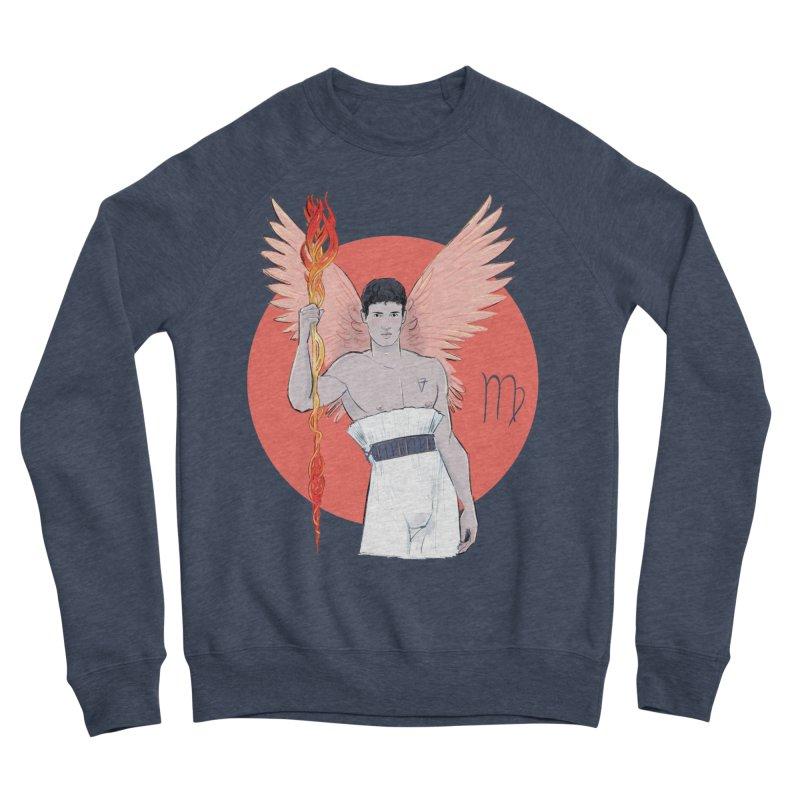 Virgo Men's Sponge Fleece Sweatshirt by Ego Rodriguez