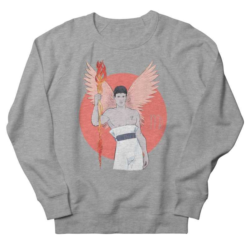 Virgo Men's French Terry Sweatshirt by Ego Rodriguez