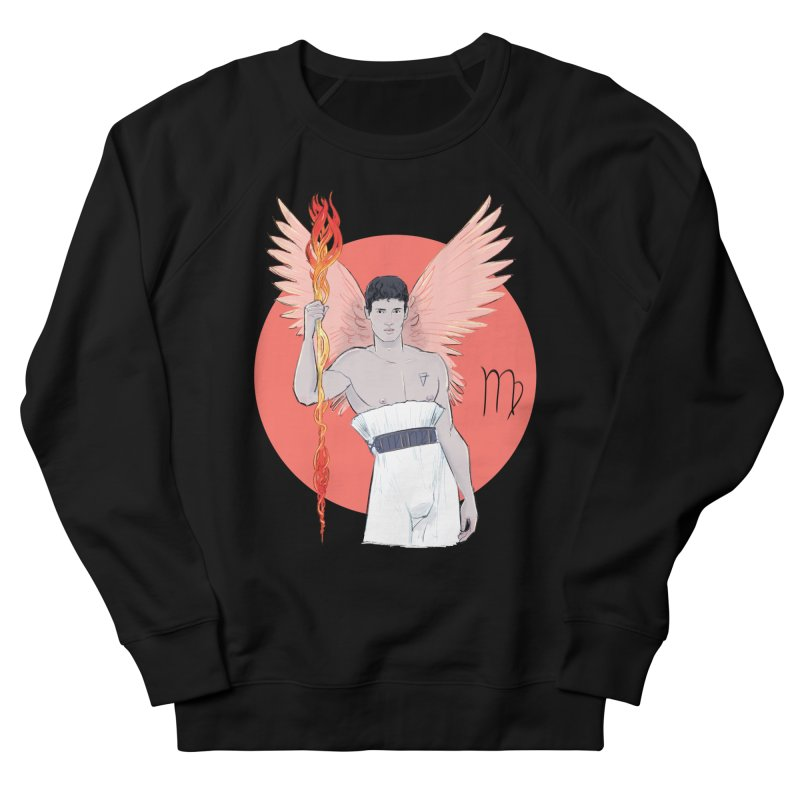 Virgo Men's French Terry Sweatshirt by Ego Rodriguez